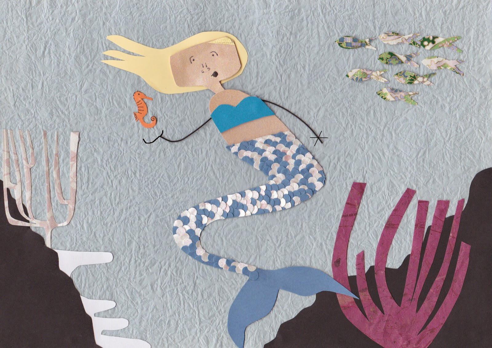 In her tail: how things would have gone down if I was the Little Mermaid