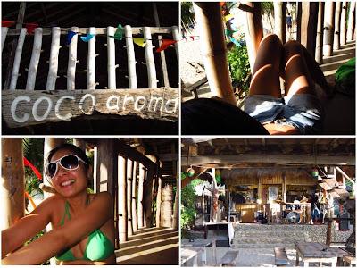 coco aroma hangout-white beach puerto galera-esay querubin