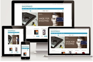 Shopingo - Online Store Responsive Blogger Template