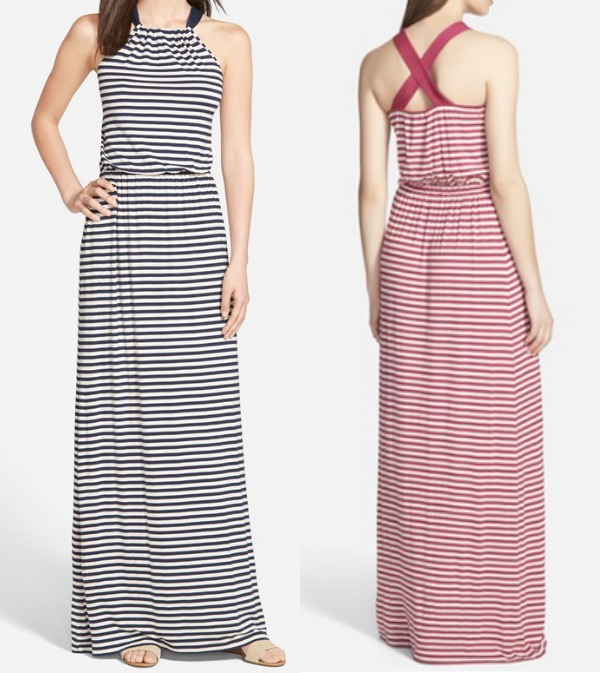 Weekend Steals & Deals - Caslon Halter Style Maxi Dress