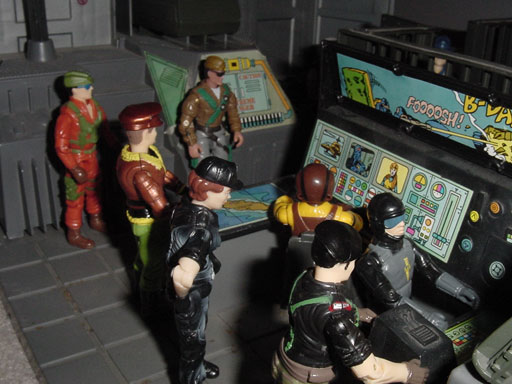 Tiger Force Airtight, Ar Puro, Estrela, Brazil, Tigor, Forca Eco, Forca Fera, 2002 General Tomahawk, Funskool General Flagg, 1997 Lady Jaye, Flint, Blades, Action Force, European Exclusive