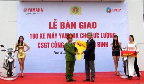 Dàn xe Yamaha thiết kế riêng cho CSGT Việt Nam