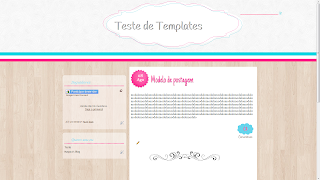 template free layout gratis para blogger sweet templates st loved pink para meninas