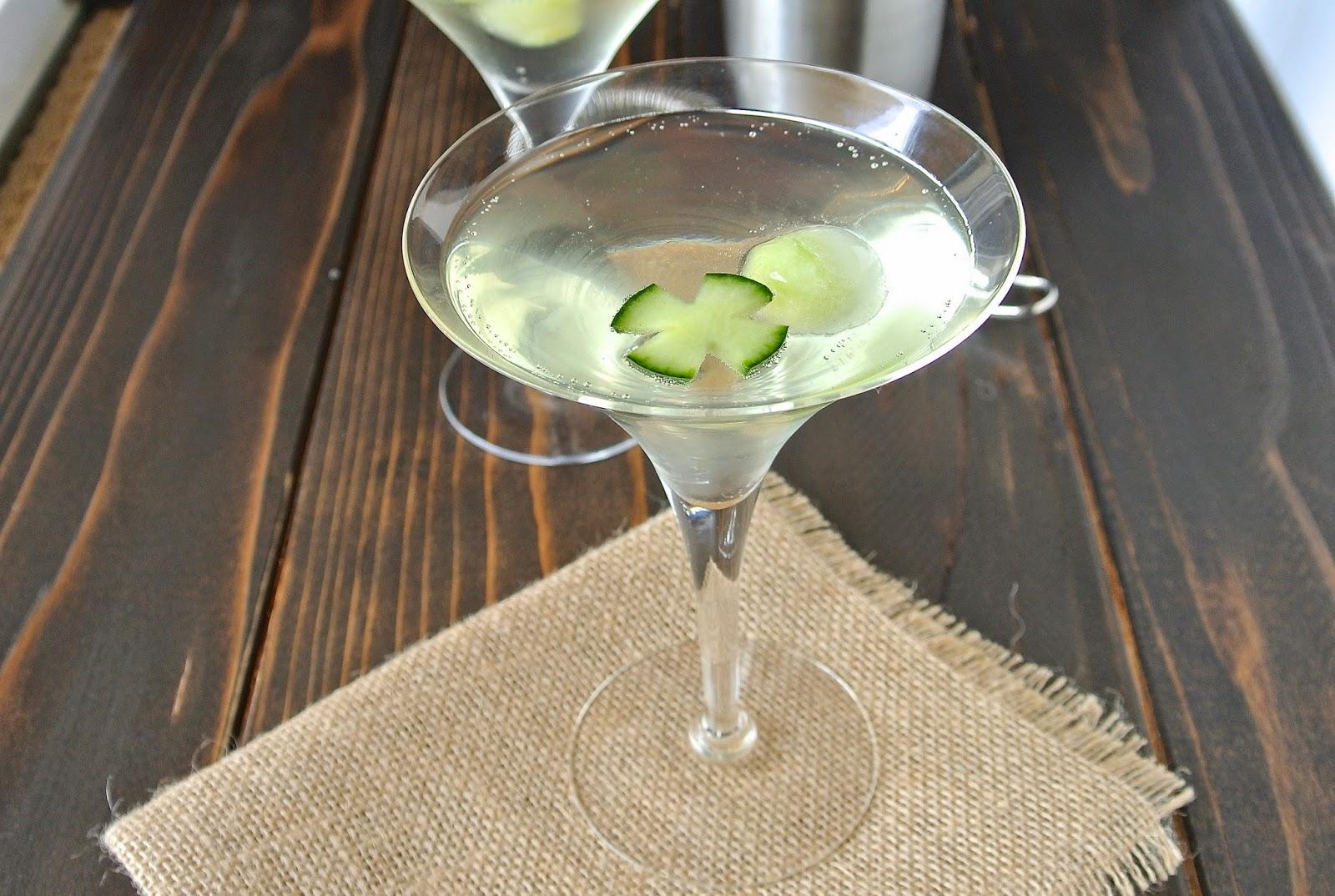 Cucumber gin fizz - Culinary Ginger