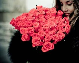букет роз окрытка