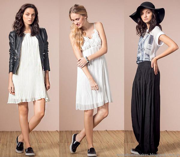 Núcleo Moda primavera verano 2015 vestidos y faldas de moda 2015.