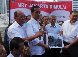 Kenapa Jokowi Harus Berhutang Demi MRT