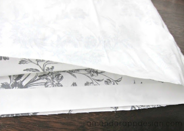 Amanda Rapp Design No Sew Removable Pillow Covers