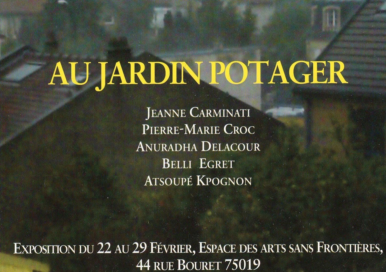 Espace des arts sans fronti res au jardin potager for Au jardin des sans pourquoi translation