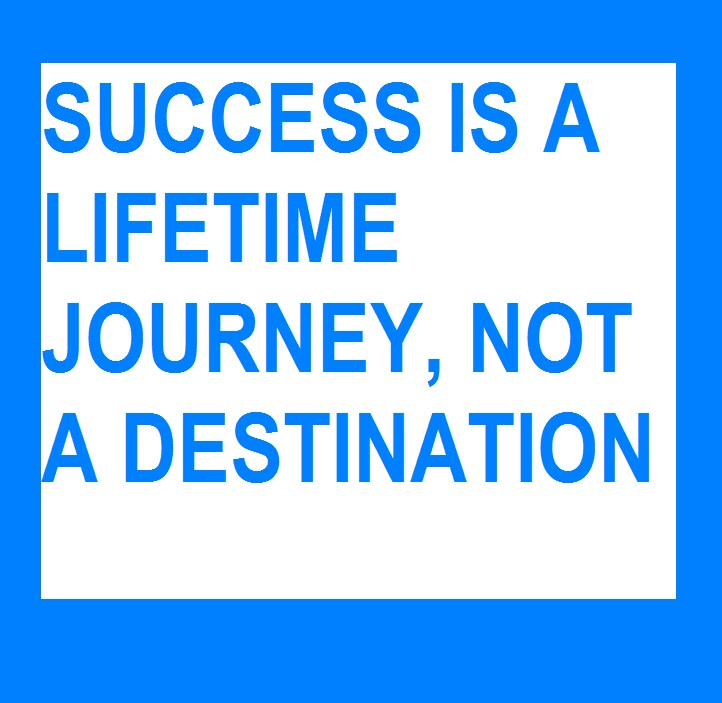 success in your career can be defined as a journey