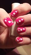 Amor amor.paznokcie walentynkowe (dscf )