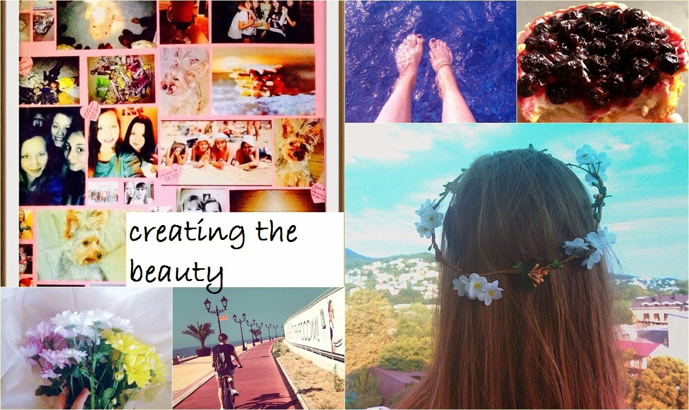 Creating the beauty