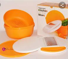 Kitchen Move Tupperware