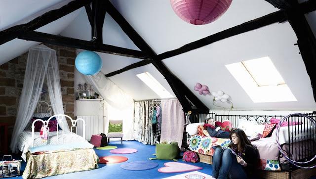 habitación infantil desván. Trendy Children