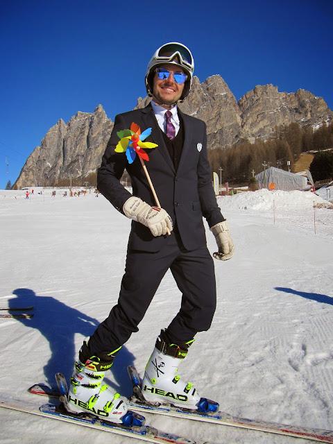 maestro fiaccolata per bambini, girandolata di Carnevale a Cortina