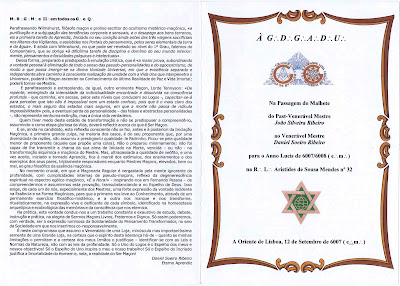 conspiração, máfia, ps, psd, cds, politica, mozart, Maçonaria Passagem do Malhete a Oriente de Lisboa Portugal