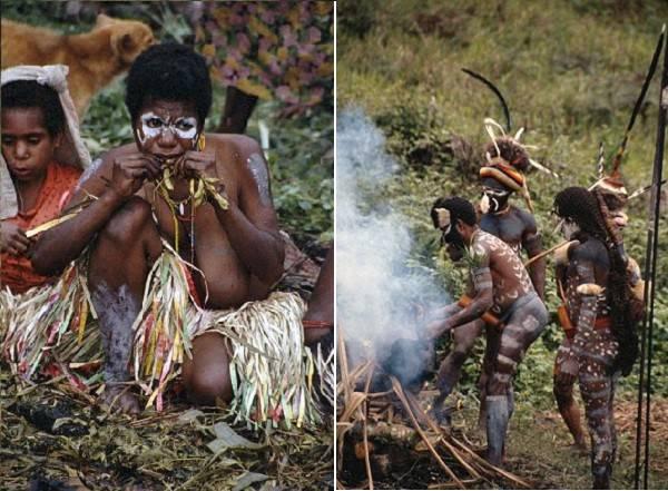 """Thổ dân Indonesia đàn ông che """"của quý"""" bằng quả bầu 4"""