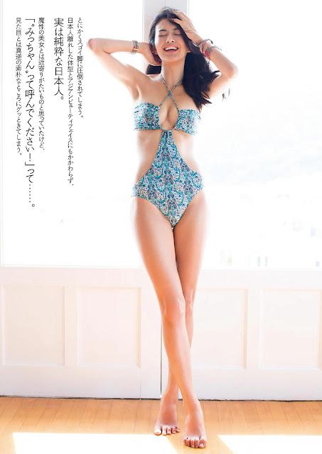 【芸能】田中道子「等身大の自分を表現できた」初写真集 セクシー水着姿も©2ch.net->画像>37枚