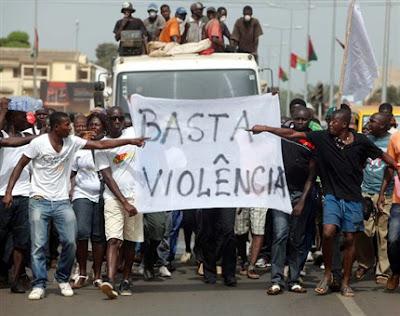 Guiné-Bissau: ONU CONDENA USO DA FORÇA EM MANIFESTAÇÃO