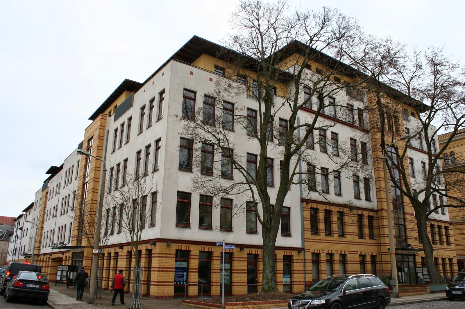 Hier das Carree in der Ecke Egel-/Inselstraße im Graphischen Viertel