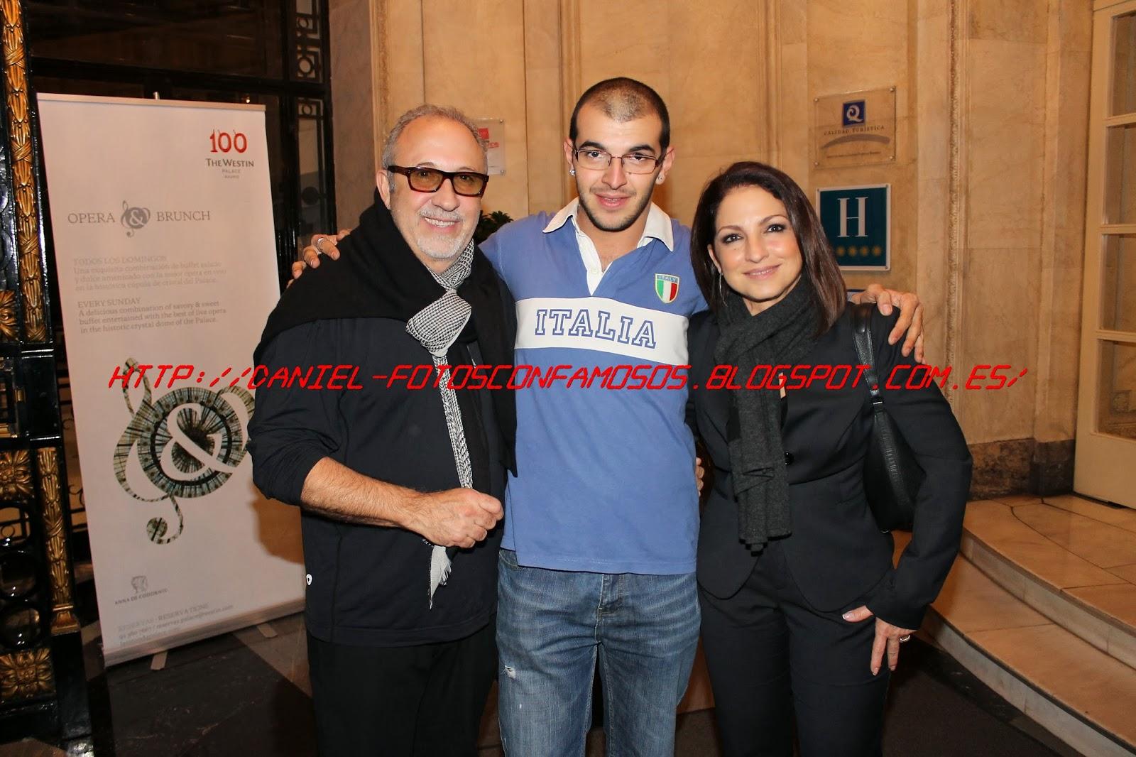 ¿Cuánto mide Dani Fotos? (Danifotos) Emilio+Estefan+y+Gloria+Estefan