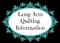 I'm a long-arm quilter. I have a pre-holiday special for you!