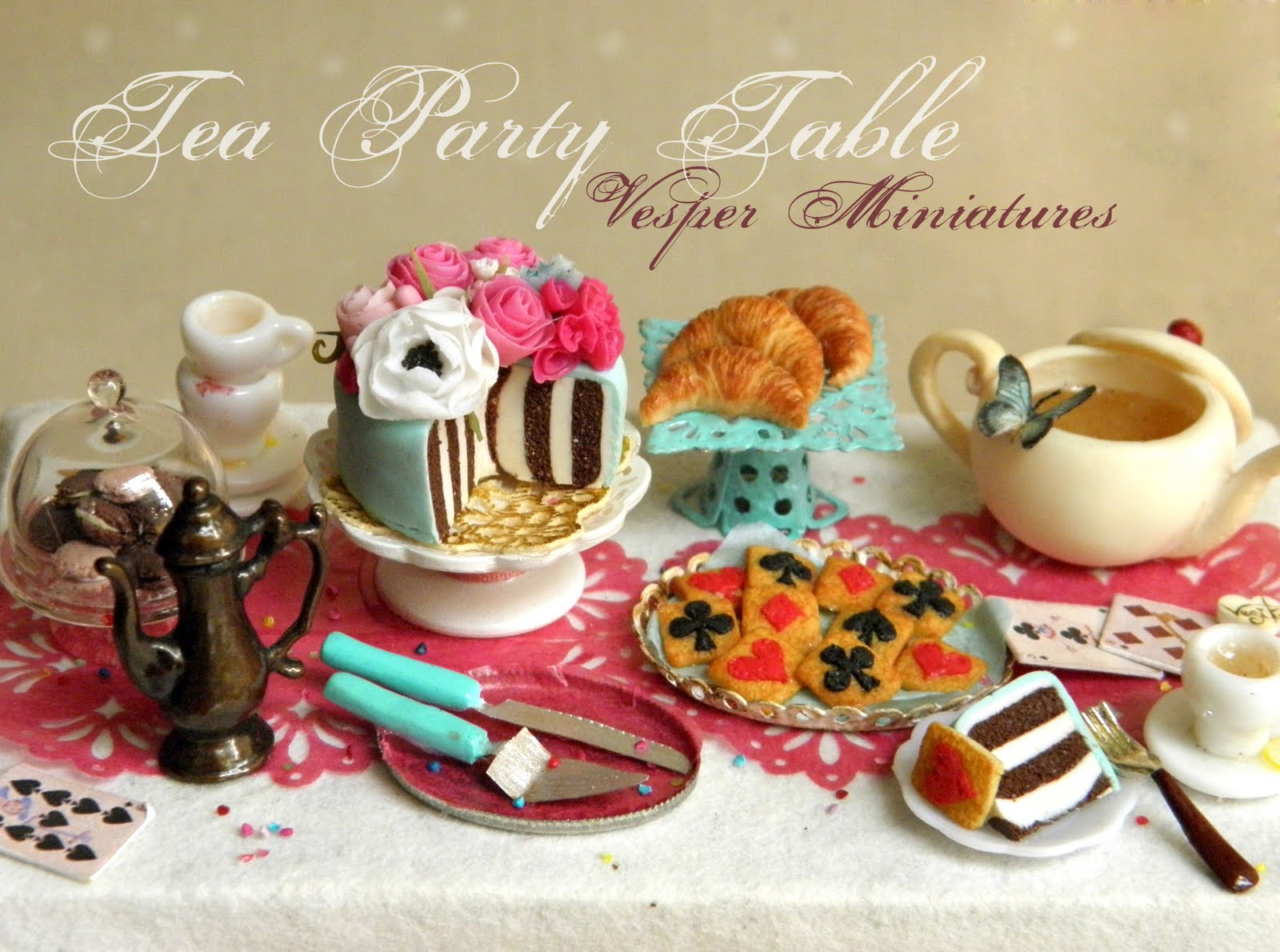 alice in wonderland mad tea party food