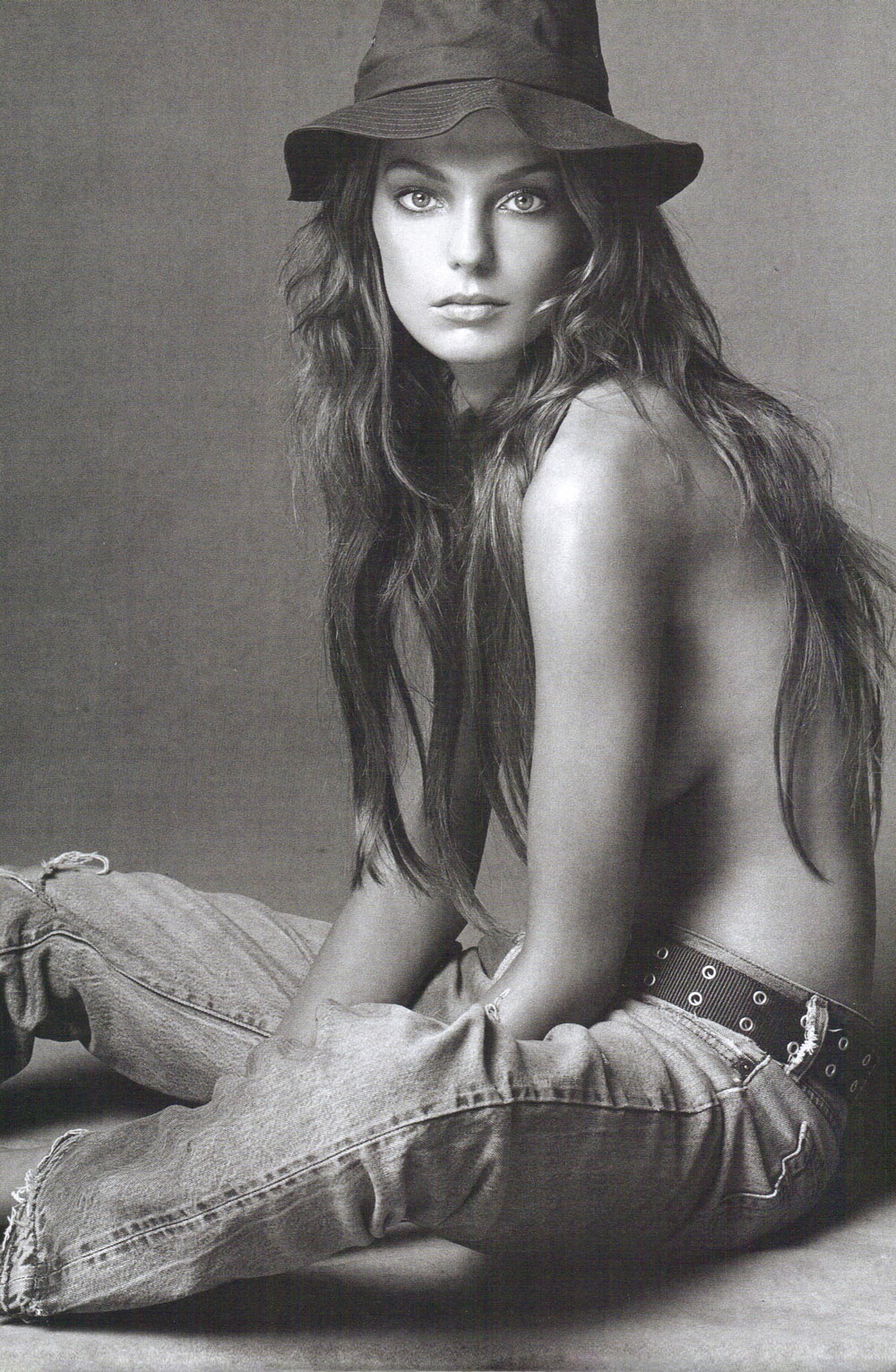 Daria Werbowy in Vogue Italia May 2004 (photography: Steven Meisel)