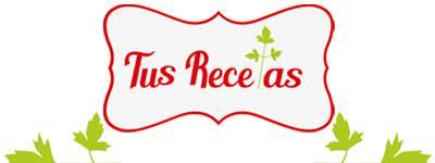 """Reto """"Tus Recetas"""""""