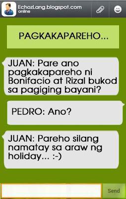 ano pagkakapareho ni Bonii at Rizal  bukod sa pagiging bayan