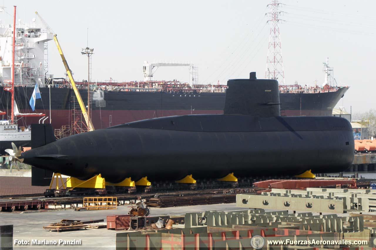 Submarino ARA San Juan entra en servicio