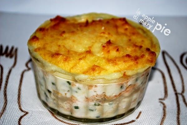 Amato La Apple Pie di Mary Pie: Fish Pie - Sformato di pesce LR55