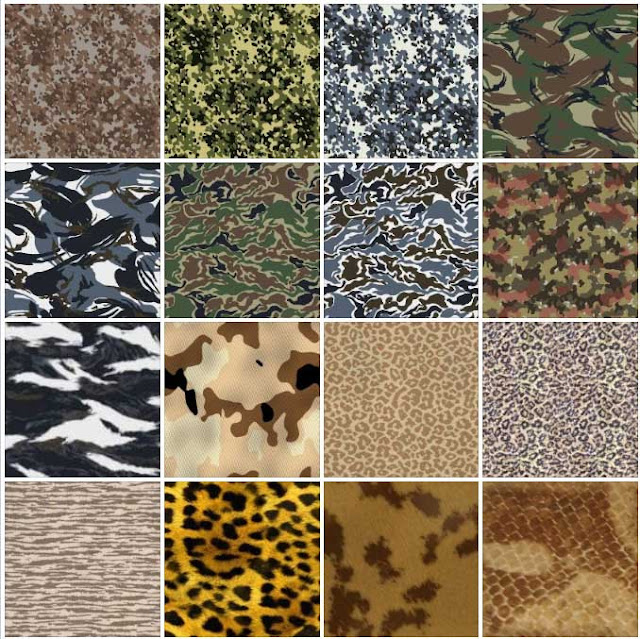 tileable camouflage textures #1