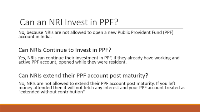Does NRIs are allowed to invest in PPF