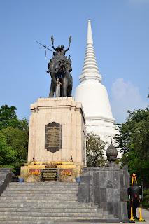 อนุสรณ์ดอนเจดีย์ เมืองสุพรรณบุรี