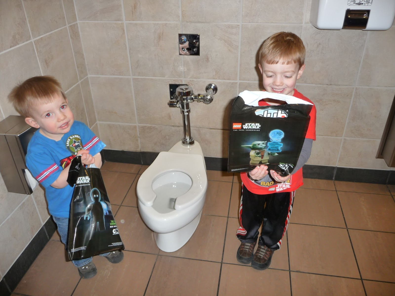 On Our Way Home We Stopped By The Alderwood Mall To Go Lego Store And Found Cutest Little Potty In Malls Family Bathroom