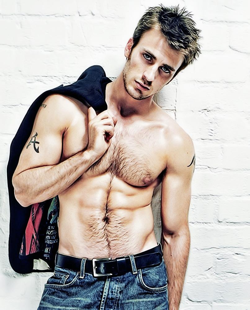 Chris Evans Handsome A...