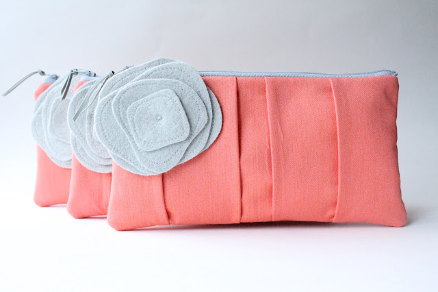 allisa jacobs wedding clutch set