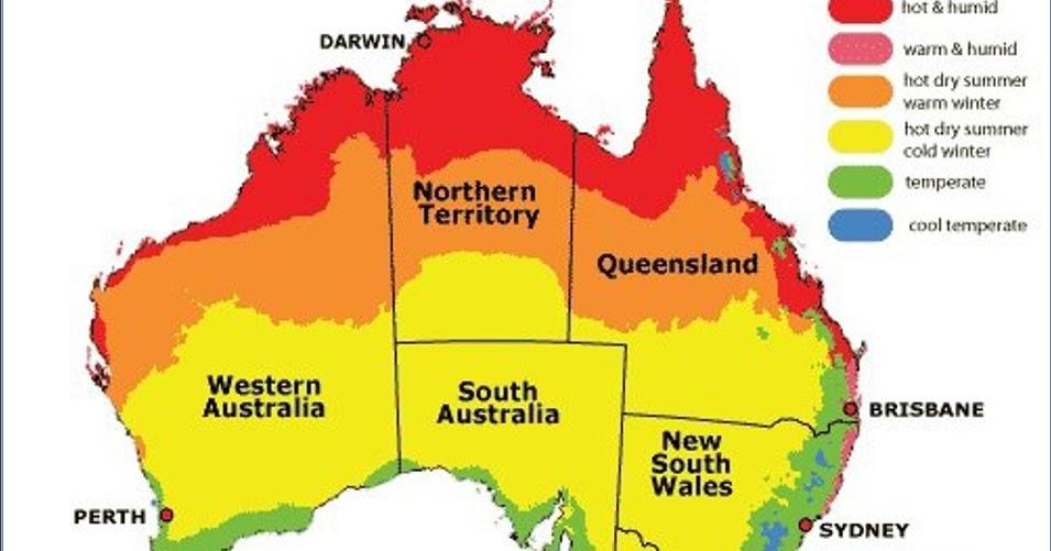Start to grow australian climate zone jigsaw for Gardening zones australia