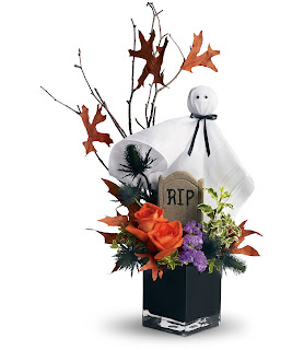 Send Halloween Flowers with the Teleflora Ghostly Gardens Bouquet