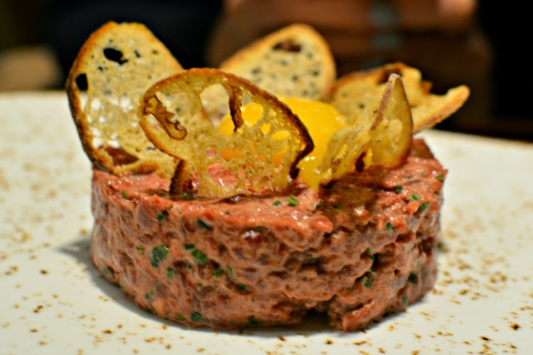 Fenchurch Seafood and Grill steak tartare