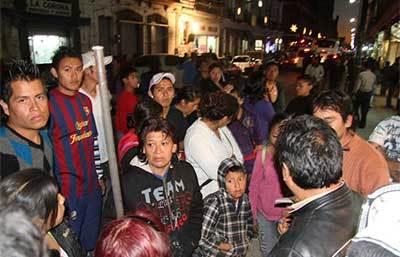 Ambulantes en Puebla