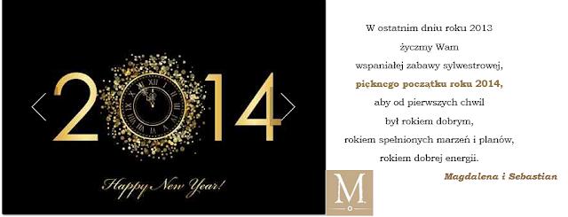 Blog o urządzaniu wnętrz Mile Maison życzy Happy New Year