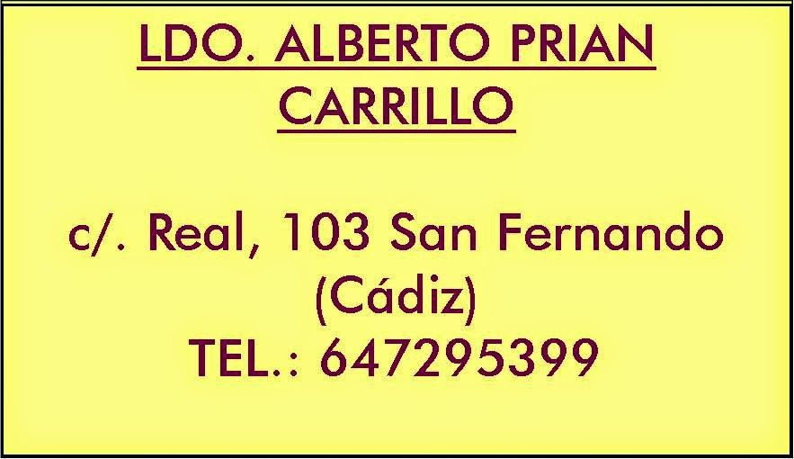 Ldo. Alberto Prian Carrillo