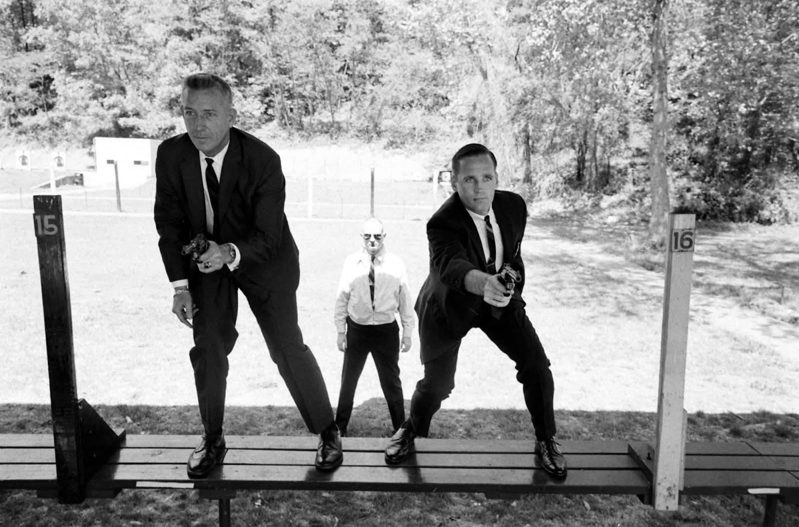 Secret Service agents Art Godfrey and Chuck Zboril