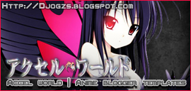 Accel World Blogger Templates