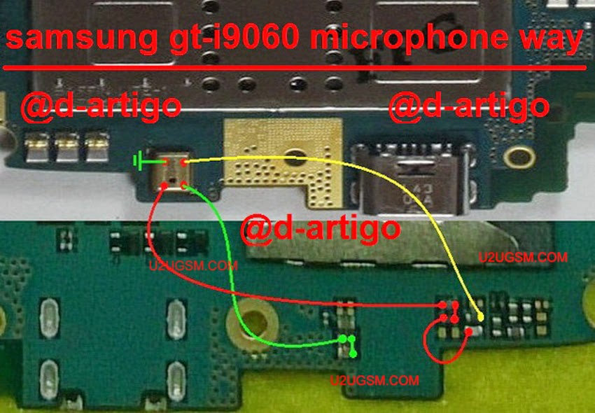 Samsung Grand Neo I9060 Mic Ways