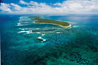 Desroches Island in Seychelles