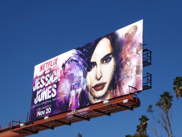 Jessica Jones series launch billboard