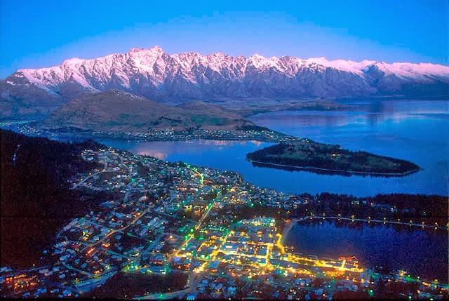 Lugares atractivos en Nueva Zelanda